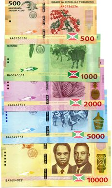 World - Burundi 2015 issue - Malawi 2014-2016 issue