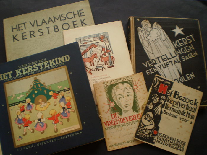 Christmas - Lot of 6 books - 1935/1948