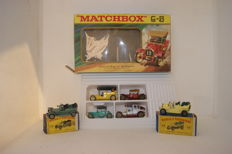 Lesney Matchbox - Various scales - Famous Cars of Yesteryear Gift Set No.G-5e, Rolls Royce 'Silver Ghost' Y15-1 and Spyker Y-16-1