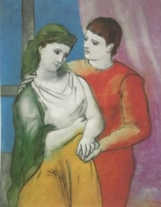 Pablo Picasso (after) - The Lovers