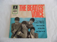 The Beatles - Voice - EP - Very Rare - 1964 Germany - Original German Odeon - O 41 647 - Record-Sl.is VG + / Record & Innersl. is Near Mint -