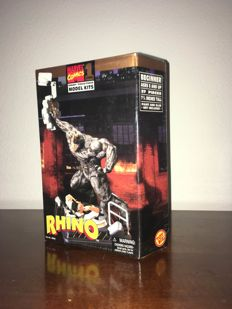 Toy Biz - Marvel model kits - the Thing, Silver Surfer, the Beast, Rhino