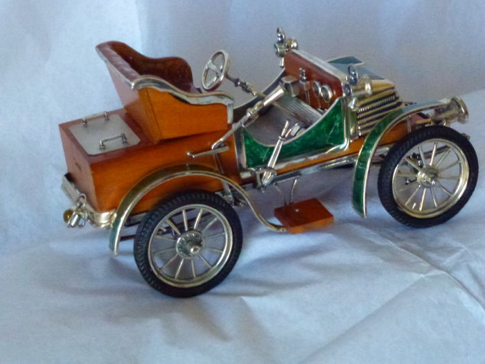 fiat model car made of silver 925 designer quotsacchetti