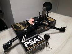 RODE NT1-A microphone and a PSA-1 studio arm