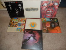 The King Crimson Re Issue Album Collection