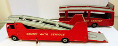 Dinky Supertoys - Scale 1/48 - Car Carrier No.984 and Trailer for car Carrier No.985