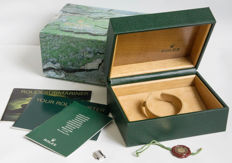 Original Rolex Submariner Box set plus 1 bracelet section