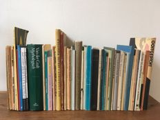 Poetry; Lot with 50 books of Dutch poetry - 1927 / 2000