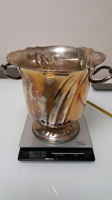 Silver Ice Bucket Italy, second half of the 20th century