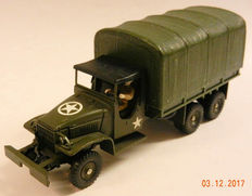 Dinky Supertoys-France - Scale 1/43 - GMC 6x6 Huifwagen No.809