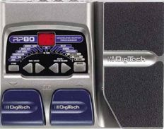 Multi effect DigiTech RP 80 pedal board in perfect condition