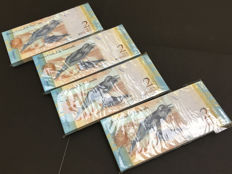 Venezuela - 400 x 2 Bolivares 2013 - Pick 88g - consecutive numbers and original bundles