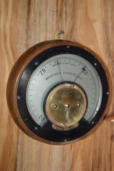 Very Rare Weather Foreteller Barometer by Negretti & Zambra - England - Ca 1915