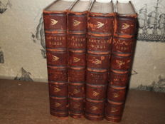 William Yarrell - A history of British birds - 4 volumes - 1871/1874