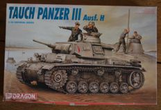 Dragon -  Scale 1/35 - Tank Tauch Panzer III Ausf. H