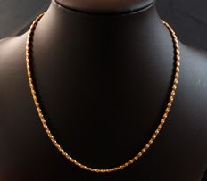 Necklace in 18 kt yellow gold - circa 1970