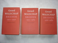 Gerard Walschap - Letters [1921-1989] - 3 volumes - 1998/2002