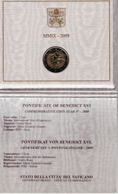 Vatican - 2009 - €2 - International Year of Astronomy