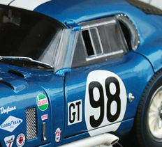 """Exoto - scale 1/18 - Shelby Cobra Daytona Coupé #98 - C. Shelby """"restored and owned by Shelby"""" 1965"""