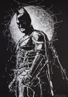 Peter Stark - The Black Knight Silver Ink