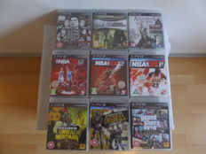 PS3  Playstation 3: 9 games new in seal