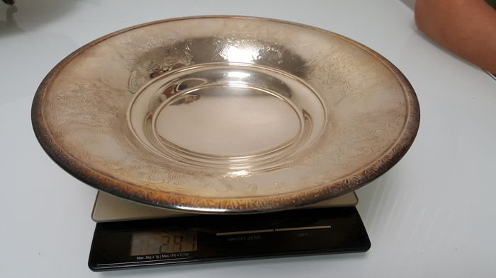 Silver Plate, Ag 800 Italy, late 20th century