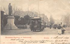 Theme trams in the streets, including Rotterdam, Velp, Amsterdam, the Hague, Leiden 76 x