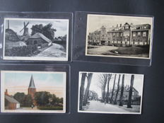 lot consisting of 102 cards from Ermelo and Hoog-Soeren