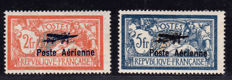 France 1927 - Air post - Yvert 1 and 2