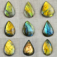 Faceted Labradorite Gemstone lot - 580 cts