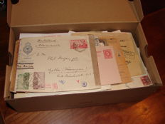 World - Box with 242 good covers with a lot of censor, pre-philately, classic letters, including UK and Germany