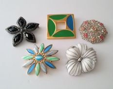 Monet, Liz Claiborne, Crown Trifari Brooches Collection
