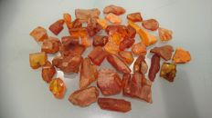 Lot of raw amber Baltic amber - 75 g