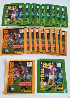 Panini - Voetbal 93 + 94 - 20 packets in original seal