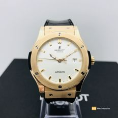 Hublot - Fusion King  Opalin , Oro Rosa, 42mm, Automático - 511.OX.2610.LR - Heren - 2014