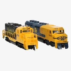 Athearn/Modelpower H0 - 3601/6750 - lot of two Diesel locomotives of the Santa Fe