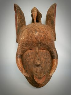 Large African Animal Mask - GURU - Ivory Coast