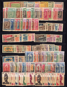 Cameroon 1916/1960 – Collection with Airmail and Federal Republic.