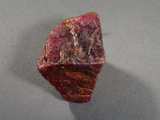 Top unheated padparadscha colour natural sapphire rough - Approx. 42x40x38mm - 590ct