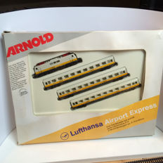 Arnold N - 0180 - 'Lufthansa Airport Express' with E111 & 3 passenger carriages