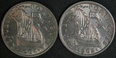 Portugal Republic – 2 ½ Escudos – 1964 & 1965
