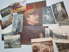 Collectors lot France/Germany with large print Petain