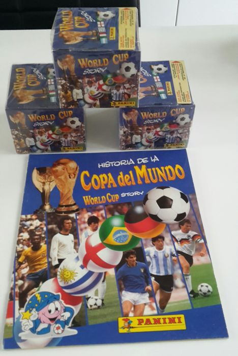 Panini - WC World Cup 1990 - 3 Sealed boxes + empty album