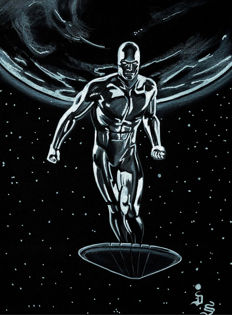 Silver Surfer by Diego Septiembre - Original Drawing