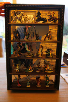Franklin MInt Enchanted Mountain Complete Collectie 1989