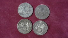 Kingdom of Italy - Lot of 4 coins, Vittorio Emanuele III (4 coins) - silver
