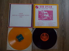 Lot Of 2 Lp Bob Dylan : Live Royal Albert Hall 1966 , Colored Vinyl And The Gaslight Tapes ,