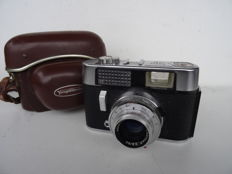 Vintage Voigtlander Vito CD camera + case - lens Lanthar 2.8/50 mm