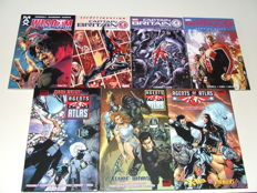 Marvel - Agents of Atlas, Wisdom + Captain Britain & MI 13 - 3x HC with dustjacket + 4x TPB/sc - 1st Edition - (2006/2010)
