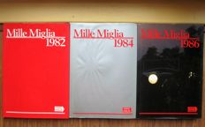 3x Mille Miglia Yearbook